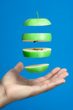 Levitating Pieces Of Green App...