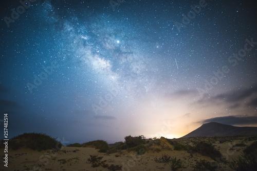 Photo MilkyWay en las dunas