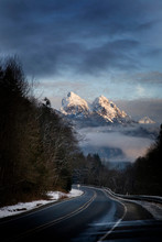 A Road Leads To Jagged, Snow C...