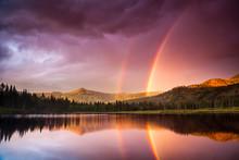 Double Rainbow Over Silver Lak...