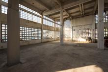 Empty Industrial Building, Bhering Factory, Santo Cristo, Rio De Janeiro, Brazil