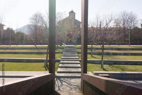 Fotografie, Obraz  Kirche in Luino am Lago Maggiore
