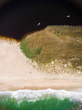 Aerial View Of Nantucket Beach, Massachusetts, USA