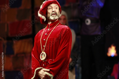 Photo  Shakespeare. Verona. Montecchi. Russian theater