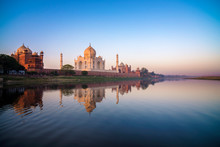 Taj Mahal, Agra, Uttar Pradesh...