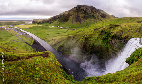 Skogafoss?waterfall, Iceland - 257495332