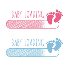Baby Loading Concept With Prog...