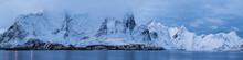 Scenic View Of Snowcapped Moun...