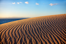 Ripples On Bologna Dune, Cadiz, Spain
