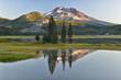 Sparks Lake at sunrise near city of Bend,Central Oregon, USA