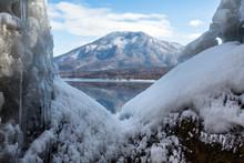 Mount Tarumae Over Lake Shikot...