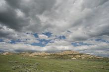 Clouds Over Little Missouri National Grassland
