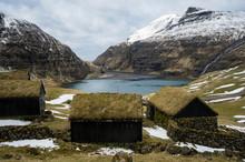 Turf Houses By Fjord, Saksun I...