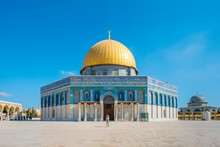 Dome Of The Rock On Temple Mou...