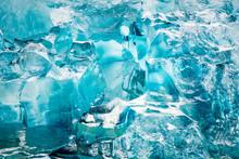 Close-up Of Iceberg In Le?Conte?Bay, Alaska, USA