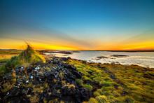 Majestic Landscape Of Iceland Island With Wonderful Colors, Iceland