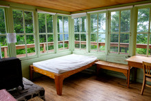 Tourist Lodge In Willamette National Forest, Fall Creek, Oregon, USA