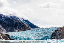 South Sawyer Glacier, Tracy Arm, Alaska, USA