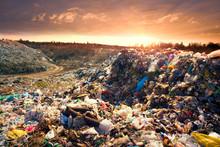 City Dump In A European Country