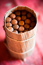 Detail Of A Packet Of Cigars O...