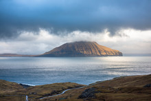 Landscape View In The Faroe Islands.