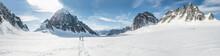 Newlyweds On Glacier In Denali...