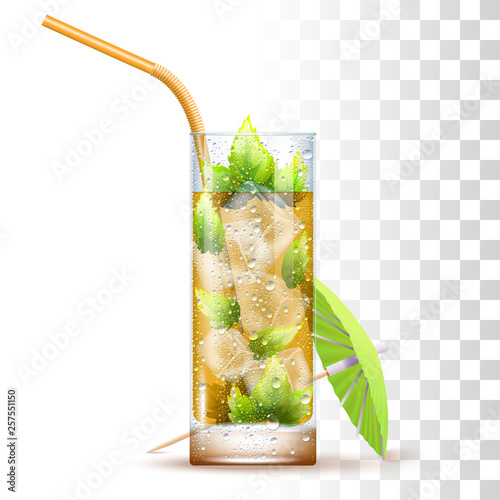 Mint Julep Cocktail Canvas-taulu
