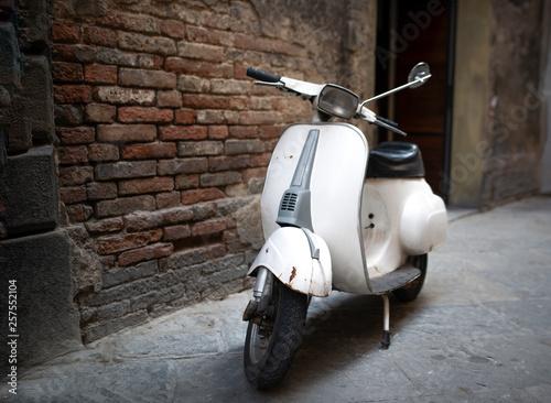 Scooter Un vecchio scooter italiano