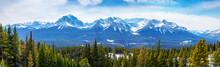 Sweeping Vista Of Canadian Roc...