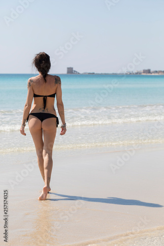 In riva al mare Canvas-taulu
