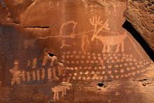 Rain Deer Petroglyph