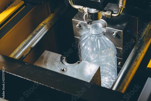 Fotografie, Tablou  Molds for plastic bottles