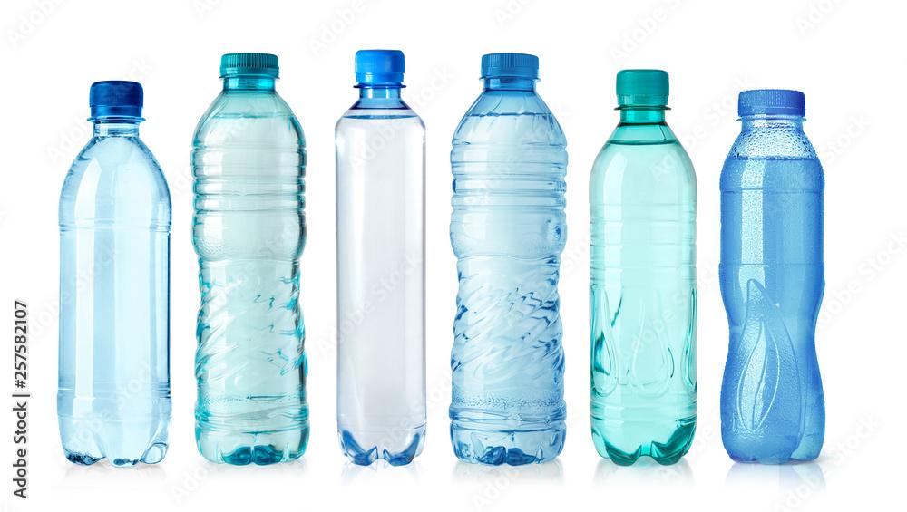 Fototapety, obrazy: plastic water bottle isolated on white