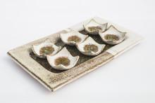 Six Ceramic Stoneware Wells Wi...