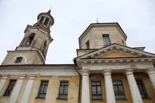 Exterior Of The Church Of Clement In Torzhok, Russia. Built In 1835