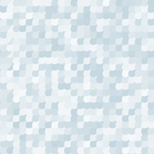 Seamless Pattern With Silvery ...