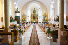 Interior Of Chatolic Church
