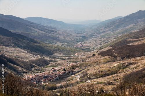 Mirador de Tornavacas (Valle del Jerte) Canvas Print