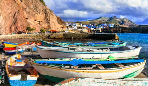 Puerto de Sardina - traditional fishing village in Gran Canaria. Canary islands
