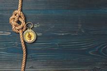 Nautical Background. Sailing R...