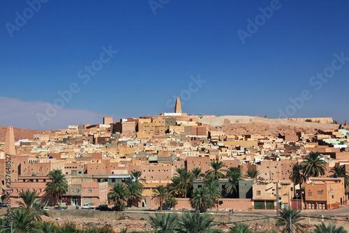 Ghardaia, Algeria, Mzab, Sahara  Desert Canvas Print