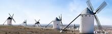 Traditional Windmills In La Ma...
