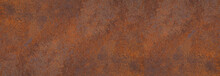 Panoramic Grunge Rusted Metal ...