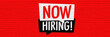 Leinwanddruck Bild - Now hiring !