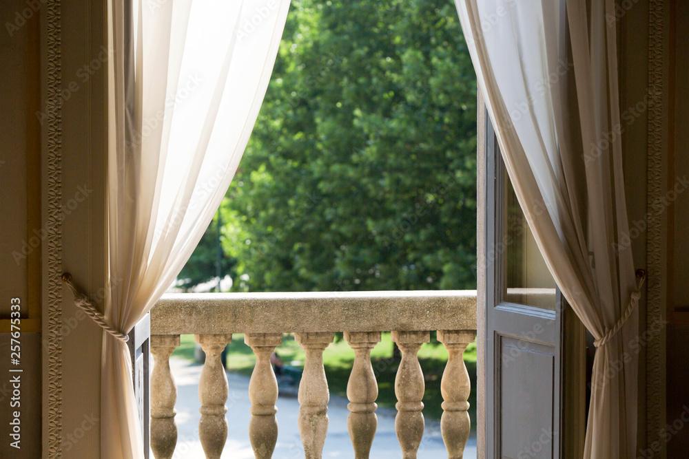 Fototapety, obrazy: Vista da una delle finestre della Palazzina Appiani su Parco Sempione