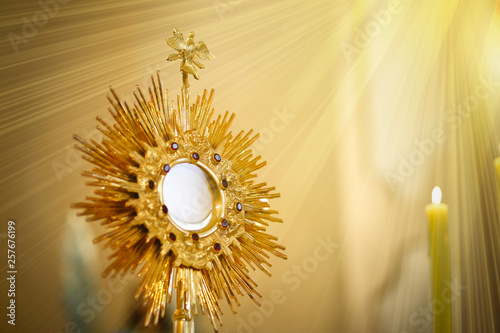 Ostensorial adoration in the catholic church - Corpus Christi