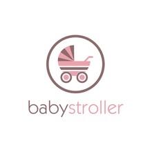 Baby Stroller Logo Design Inspiration