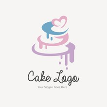 Wedding Cake Logo Design