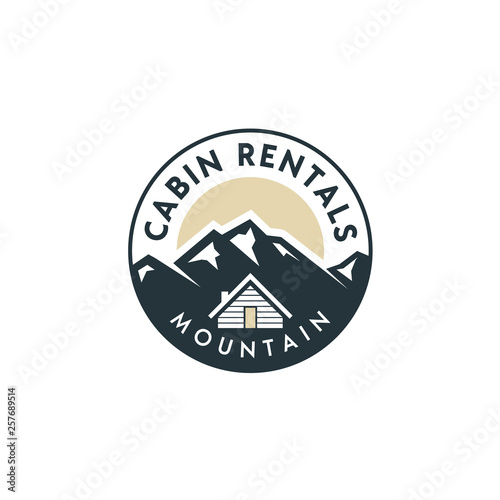 Foto Mountain view with cabin for family village house rent