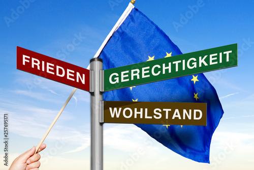 Fotografia  Ziele der Europäischen Union